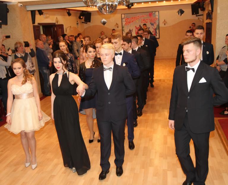 Polonez pokazowy - Studniówka 2016
